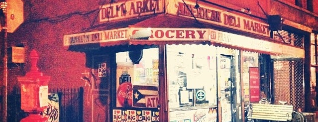 American Deli Market is one of For New York: Everyday Necessities.