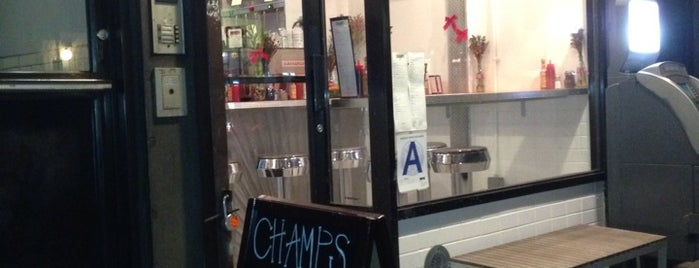 Champs Junior is one of NYC eats.