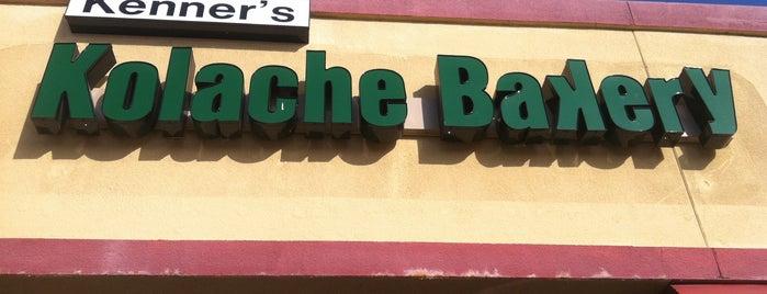 Kenner's Kolache Bakery is one of kolache heaven.