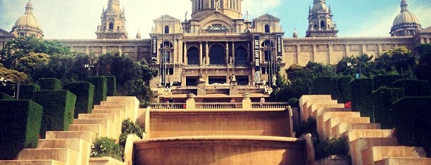Museu Nacional d'Art de Catalunya (MNAC) is one of Barcelona sightseeing.