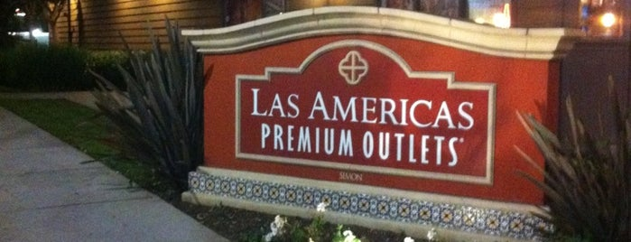 Las Americas Premium Outlets is one of SAN DIEGO.