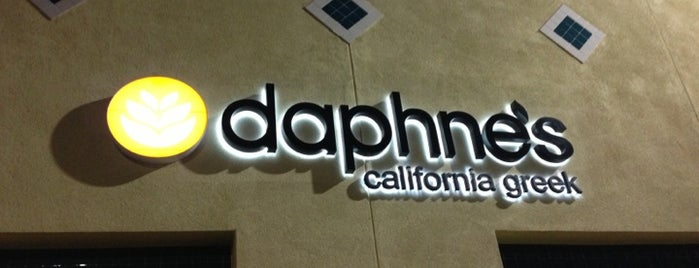 Daphne's California Greek is one of Los Angeles.