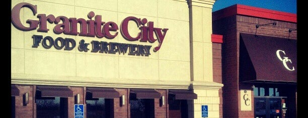 Granite City Food and Brewery is one of Posti che sono piaciuti a Brooke.