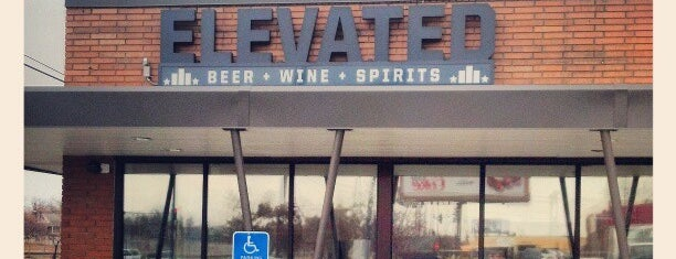 Elevated Beer + Wine + Spirits is one of Beer.