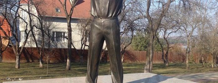 Памятник Гагарину Юрию is one of Михаил : понравившиеся места.