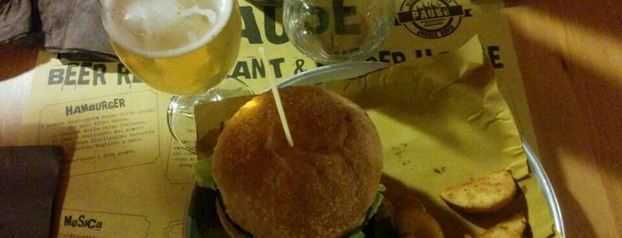 PAUSE - Beer Restaurant & Burger House is one of Lugares favoritos de RegazzinoFromhell.