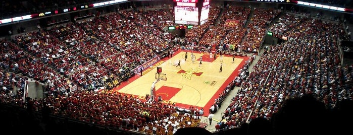 James H. Hilton Coliseum is one of Iowa.