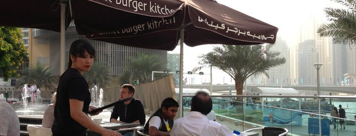 Gourmet Burger Kitchen is one of Dubai.