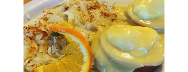 Flappy Jacks Pancake House is one of America's 50 Best Eggs Benedict Dishes.