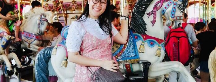 Cinderella Carousel is one of Tempat yang Disukai Shank.