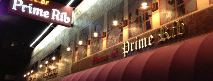 House of Prime Rib is one of Tempat yang Disimpan squeasel.