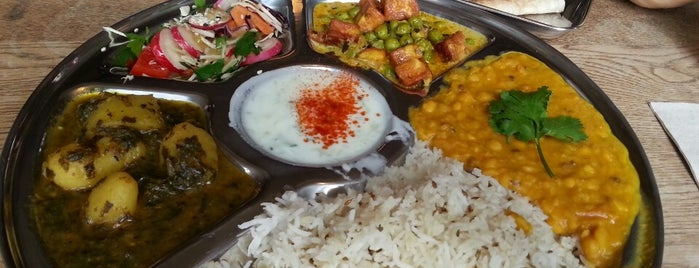 Thali Cafe is one of Bristol.