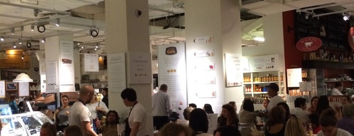 Eataly Flatiron is one of NYCeatDrink.