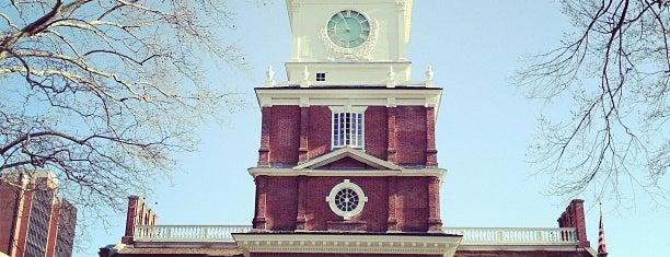 Independence Hall is one of Lugares donde estuve en el exterior.