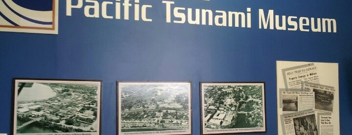 Pacific Tsunami Museum is one of HAWAII.
