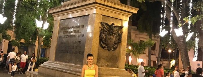 Parque Simon Bolivar is one of Cartagena.