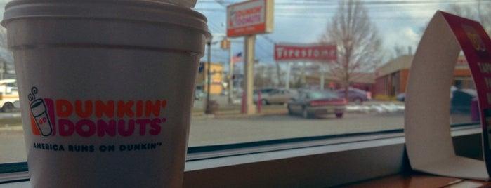 Dunkin' is one of Orte, die Crystal gefallen.