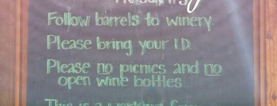 Jones Winery is one of Lugares favoritos de Emme.