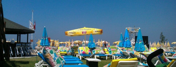 Arena beach is one of Gizemliさんの保存済みスポット.