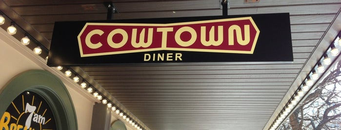 Cowtown Diner is one of FTW Eats.