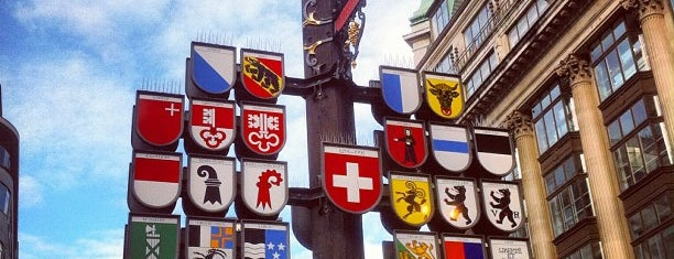Swiss Court is one of Londen.