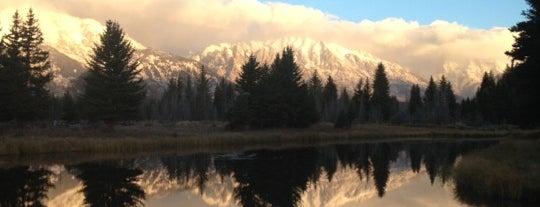 Гранд-Титон is one of US National Parks.
