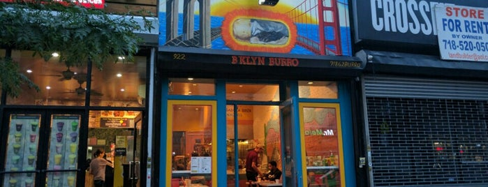 B'klyn Burro is one of Clinton Hill.