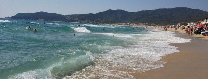 Sarti Beach is one of Halkidiki.