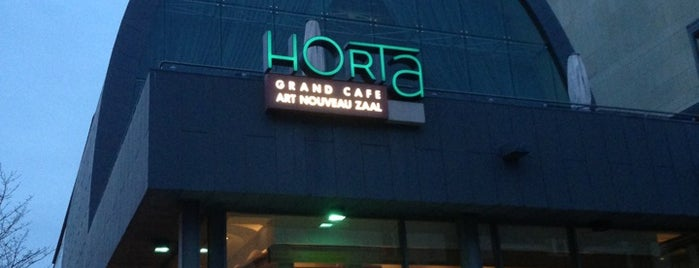Horta Grand Café & Art Nouveau Zaal is one of Belgium - Resto.