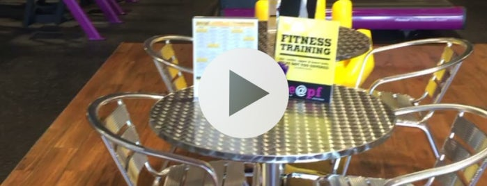 Planet Fitness is one of Lieux qui ont plu à Kevin.