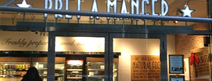 Pret A Manger is one of Locais salvos de Nadia.