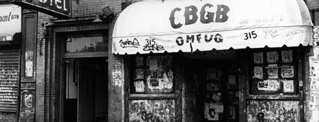CBGB & OMFUG is one of NYC.