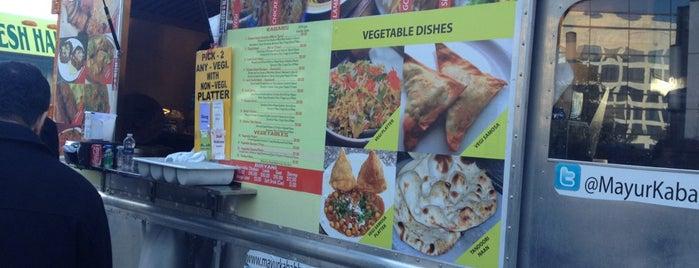 Mayur Kabab House Food Truck is one of Washington DC Food Trucks.