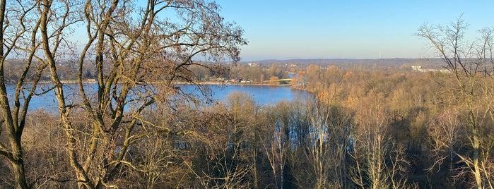 Aussichtsturm Sechs-Seen-Platte Duisburg is one of Rheinschafe on a map.