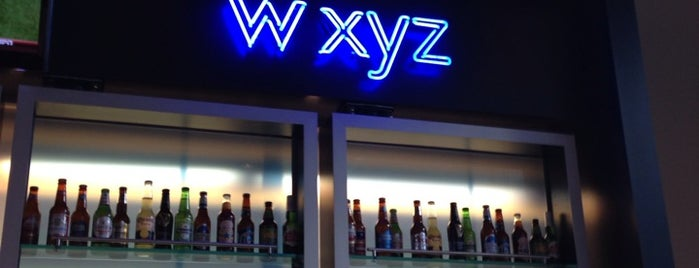 W XYZ bar is one of Posti che sono piaciuti a Aptraveler.