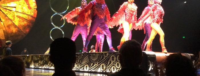 Cirque Du Soleil - Luzia is one of สถานที่ที่ Sara ถูกใจ.