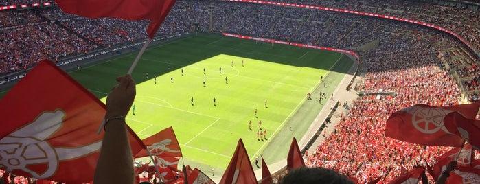 Estádio de Wembley is one of Europe 2015.