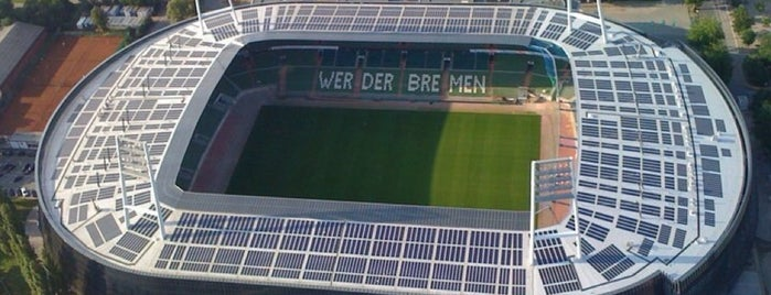 Weserstadion is one of Lugares favoritos de Ante.