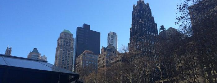 ブライアントパーク is one of New York //.