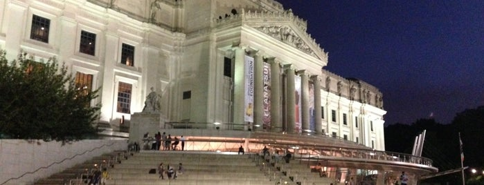 Brooklyn Museum is one of date night.