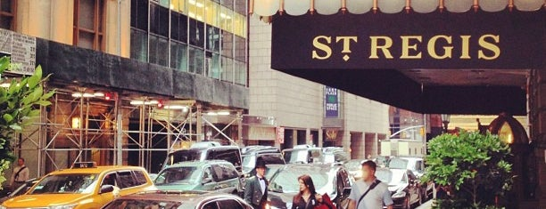 The St. Regis New York is one of NYC Places I (Eat, Drink, Party).