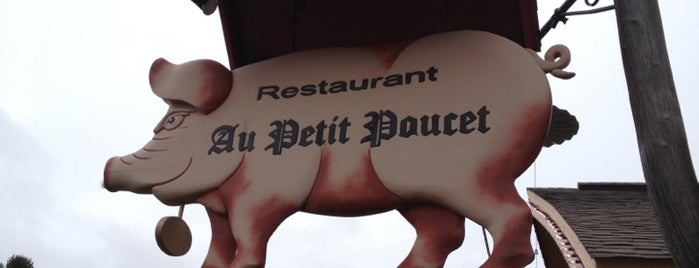 Au Petit Poucet is one of Canada.