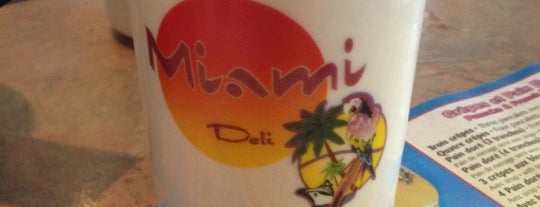 Miami Deli is one of Mes plans A.