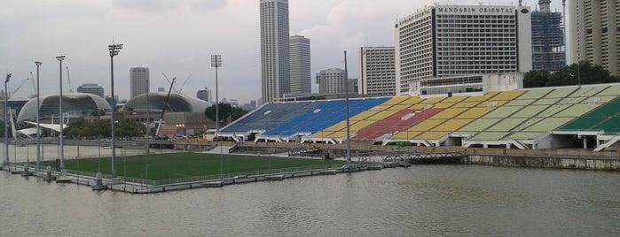 NS Square (The Float @ Marina Bay) is one of Singapura.