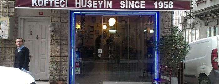 Köfteci Hüseyin is one of Lieux qui ont plu à Pelin.