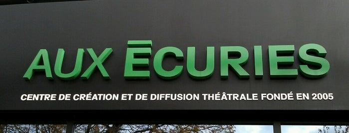 Théâtre Aux Écuries is one of Lugares favoritos de Dom.