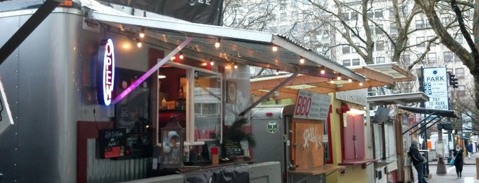 Ole Latte Coffee is one of Portland Timbers Food Cart Alliance.