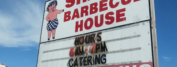 Shaw's Barbecue House is one of Locais curtidos por Kyle.