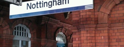 Nottingham Railway Station (NOT) is one of You calling me a train spotter?.