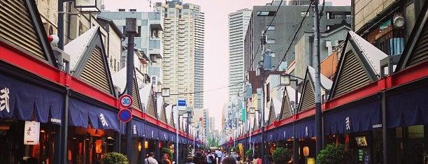 月島西仲通り商店街 is one of Tokyo.